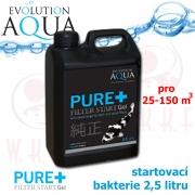 EA Pure Gel 2,5 L, filtrační biofilm, startovací aerobní bakterie 2,5 L s enzymy a filtrační emulzí, pro celosezónní aplikaci, na 25-150 m3