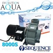 Sequence 8000S, výkon až 9.910 l/hod., spotřeba 72-83 Watt, výtlak až 2,4 m, až 3 roky záruka