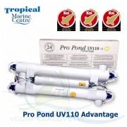 UV-C lampa TMC 110 W, UV zářič TMC Pro Pond Advantage 110 Watt - Použité zboží !!!