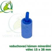 Vzduchovací kámen minerální, válec 15x28 mm, napojení na 4-6 mm