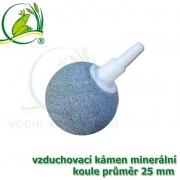 Vzduchovací kámen keramický, koule 25 mm, napojení 4-9 mm
