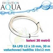 Vzduchovací hadička EA LPD 10x12 mm - 30 metrů