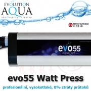 Profesionální UV zářič evo press 55 Watt, v novém provedení v tlakové verzi, s nulovým odporem i pro bazény model Astralpool 55W