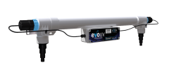 Profesionální UV zářič evo press 55 Watt, v novém provedení v tlakové verzi, s nulovým odporem i pro bazény model Astralpool 55W NOVÝ MODEL 2021