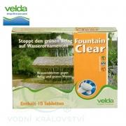 Fountain Clear 10 tablet - Přípravek proti zelenání vody ve fontánách a umělých nádržích
