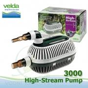 Velda filtrační, jezírkové čerpadlo High Stream 3000, max. průtok 3000 l/h, výtlak 2,9 m, příkon 49W,