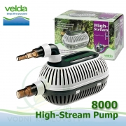 Velda filtrační, jezírkové čerpadlo High Stream 8000, max. průtok 8000 l/h, výtlak 3,8 m, příkon 115W,