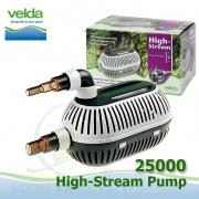 Velda filtrační, jezírkové čerpadlo High Stream 25000, max. průtok 25000 l/h, výtlak 8,5 m, příkon 520W,
