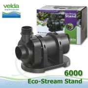 Jezírkové gravitační čerpadlo Velda Eco Stream Stand 6000, max. průtok 6100 l/h, výtlak 2,1 m, příkon 65W,