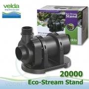 Jezírkové gravitační čerpadlo Velda Eco Stream Stand 20000, max. průtok 19100 l/h, výtlak 6,3 m, příkon 318W,