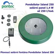Pontec PondoSolar Island 250 - Plovoucí solární fontána