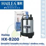 Drenážní čerpadlo Hailea HX-8200, 2500 litrů/hod, max. výtlak 3,2 m