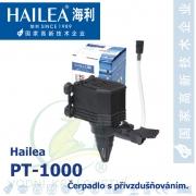 Čerpadlo s přivzdušňováním - Hailea PT-1000, max. průtok 1000 l/h, výtlak 1,6 m, příkon 16W,