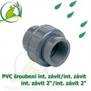 PVC šroubení 63 mm profi, rozpojitelné, interní závit 2/interní závit 2