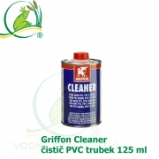 Griffon Cleaner, čistič PVC trubek 125 ml