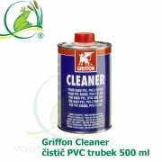 Griffon Cleaner, čistič PVC trubek 500 ml
