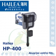 Akvarijní vnější filtr Hailea HP400, 400 litrů/hod, max. výtlak 0,4 m