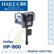 Akvarijní vnější filtr Hailea HP-800, 800 litrů/hod, max. výtlak 0,45 m