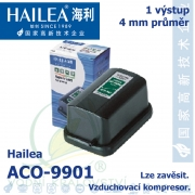 Vzduchovací kompresor Hailea ACO-9901, 1,3 l/min, 2 Watt