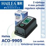 Vzduchovací kompresor Hailea ACO-9905, 6,5 l/min, 6 Watt,