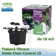 Tlaková filtrace Velda Clear Control 25, pro jezírka do 10 m3