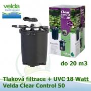 Tlaková filtrace Velda Clear Control 50 + UVC lampa pro jezírka do 20 m3