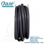 Oase - Jezírková hadice černá, balení 25 m 1, 25 mm, cena za 1 metr 77 Kč, při odběru celého balení 25 metrů