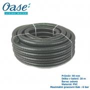 Oase - Jezírková hadice zelená, balení 20 m 2, 50 mm, cena za 1 metr 262 Kč, při odběru celého balení 20 metrů.