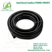 Hadice POND-PROFI 50 mm (2), cena za 1 metr 159 Kč, při odběru celého balení 30 metrů