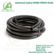 Hadice POND-PROFI PLUS 32 mm (1 1/4), cena za 1 metr 99 Kč, při odběru celého balení 25 metrů