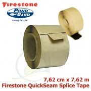 Firestone QuickSeam Splice Tape, spojovací páska 7,62 metru, sire 7,62 cm, pro spojování EPDM (PVC)