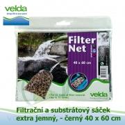 Filtrační a substrátový sáček extra jemný-černý, 40x60 cm
