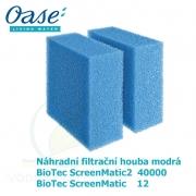 Náhradní filtrační houba modrá pro Biotec ScreenMatic 12, ScreenMatic2 40 000 a 90.000