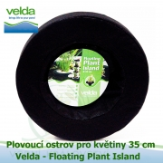 Plovoucí ostrov pro květiny kruhový 35cm - Velda Floating Plant Island 35