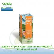 Bio-Crystal Clear 250 ml na 2500 litrů - proti kalné a nazelenalé vodě, biologicky odbouratelný flukolant
