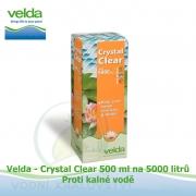 Bio-Crystal Clear 500 ml na 5000 litrů - proti zelené a kalné vodě, biologicky odbouratelný flukolant