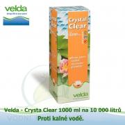 Bio-Crystal Clear 1000 ml na 10 000 litrů - proti zelené a kalné vodě, biologicky odbouratelný flukolant