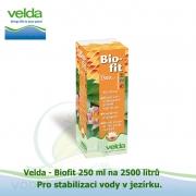 Biofit 250 ml, stabilizace vody v jezírku na 2500 litrů