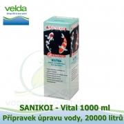 SaniKoi Vital 1000 ml, úprava vody, na 20000 litrů