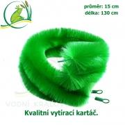 Kvalitní vytírací kartáč průměr KOI extra 15 cm, délka 130 cm