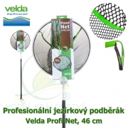 Profesionální jezírkový podběrák Velda Profi Net, kruhová síťka, 46 cm