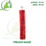 Filtrační kartáč 15 cm x 30 cm