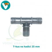 T-kus hadicový 25 mm