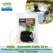 Prodlužující kabel k programovatelným krmítkům Velda Fish Feeder - Velda Extension Cable 10 m