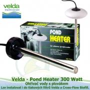 Plovák proti zamrznutí s topítkem, ohřívač vody - Velda Pond Heater 300 Watt