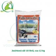 Jezírková sůl 10 litrů, váha cca 12 kg