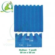 Molitan - T-profil, 50x50 cm