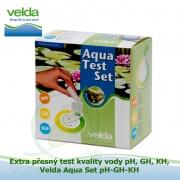 Extra přesný test kvality vody - Velda Aqua Set pH-GH-KH
