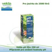 Velda pH Min 250 ml - Přípravek pro snížení hodnoty pH pro jezírka do 2500 litrů
