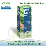 Velda pH Min 500 ml - Přípravek pro snížení hodnoty pH pro jezírka do 5000 litrů